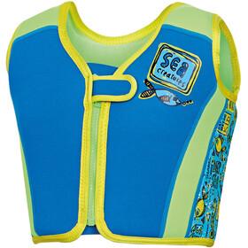 Zoggs Deep Sea Strój kąpielowy Dzieci niebieski